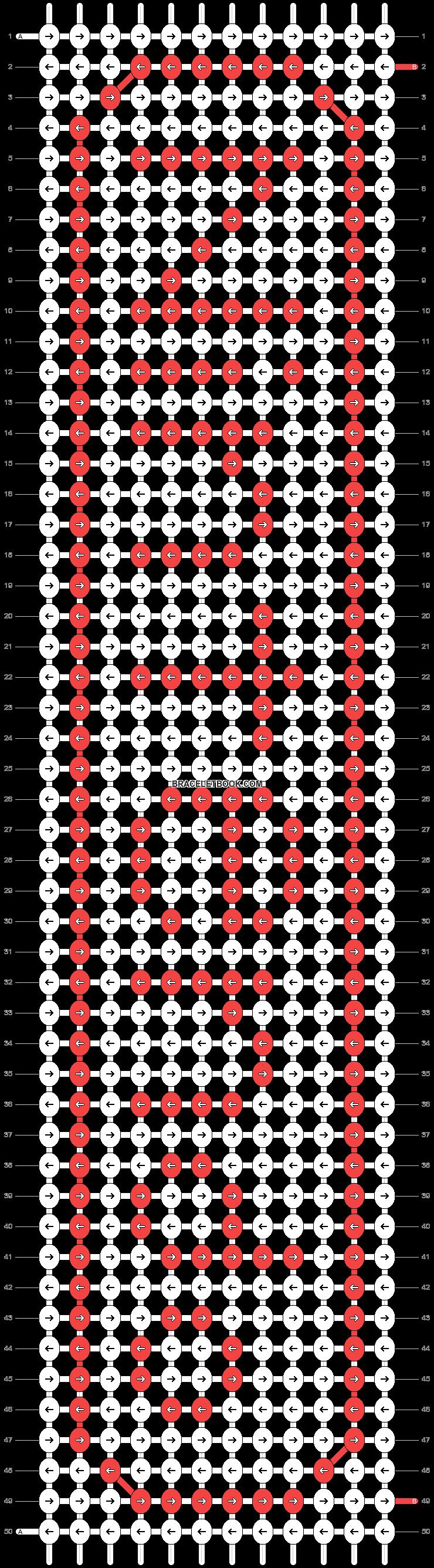 Alpha pattern #198 pattern