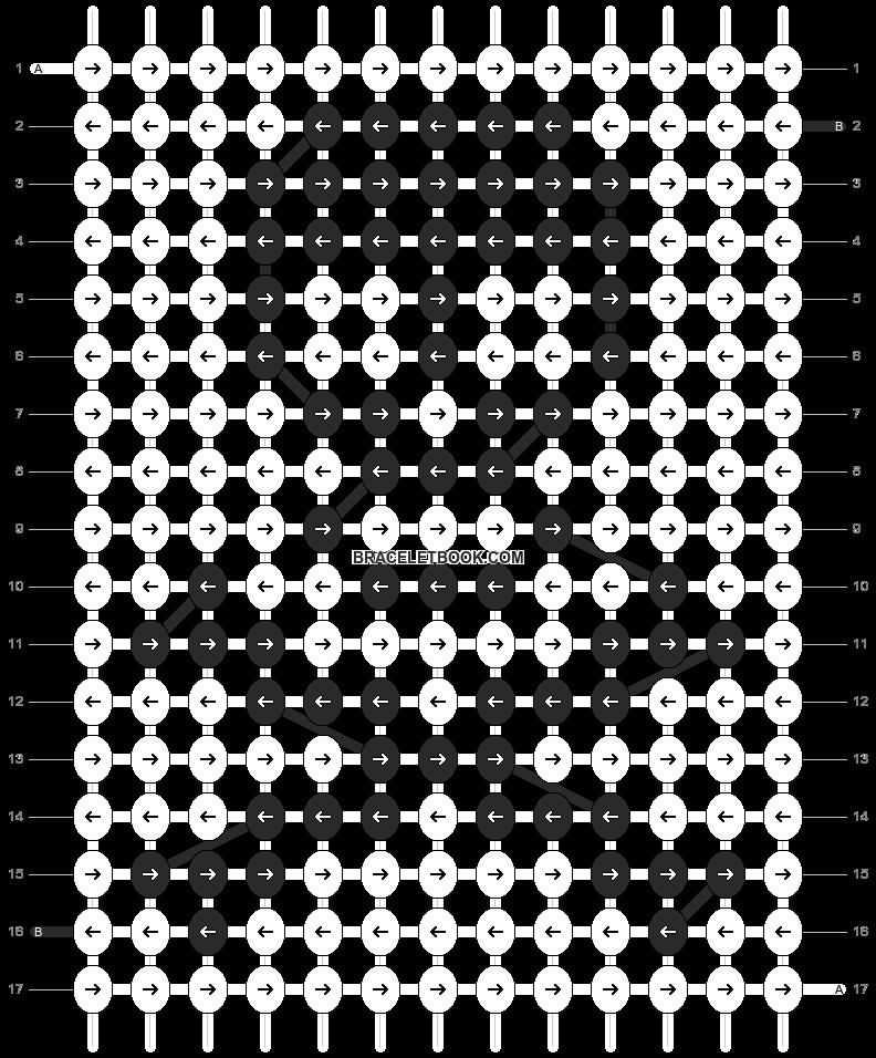 Alpha pattern #210 pattern