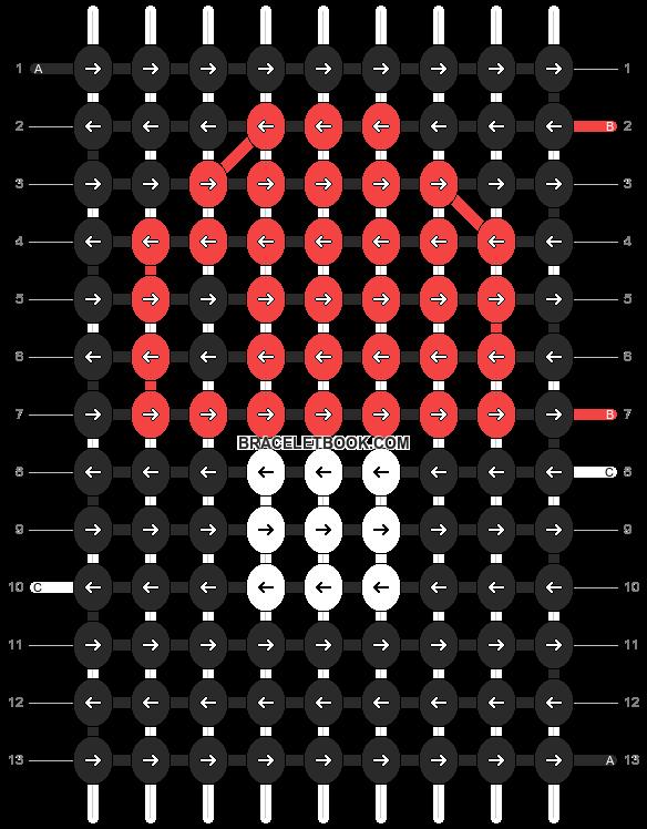 Alpha pattern #223 pattern