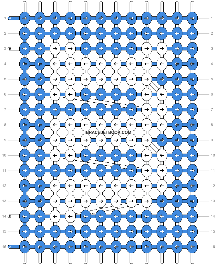 Alpha pattern #286 pattern