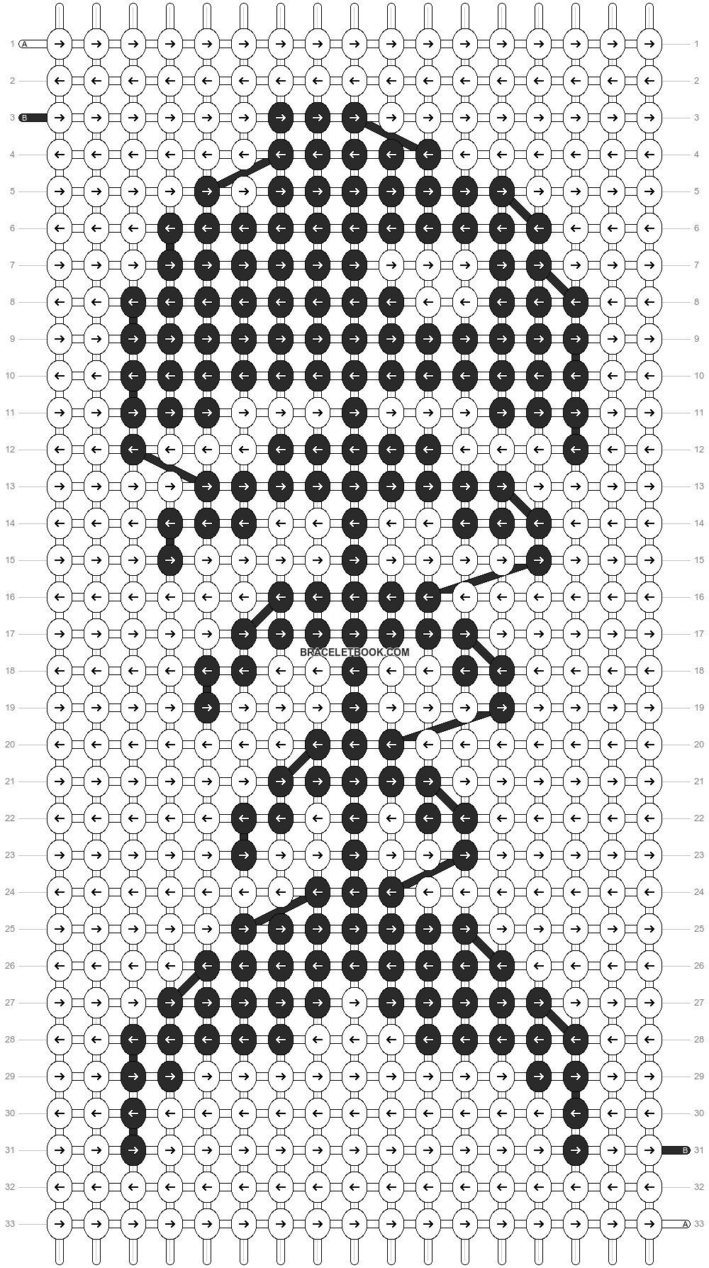 Alpha pattern #289 pattern