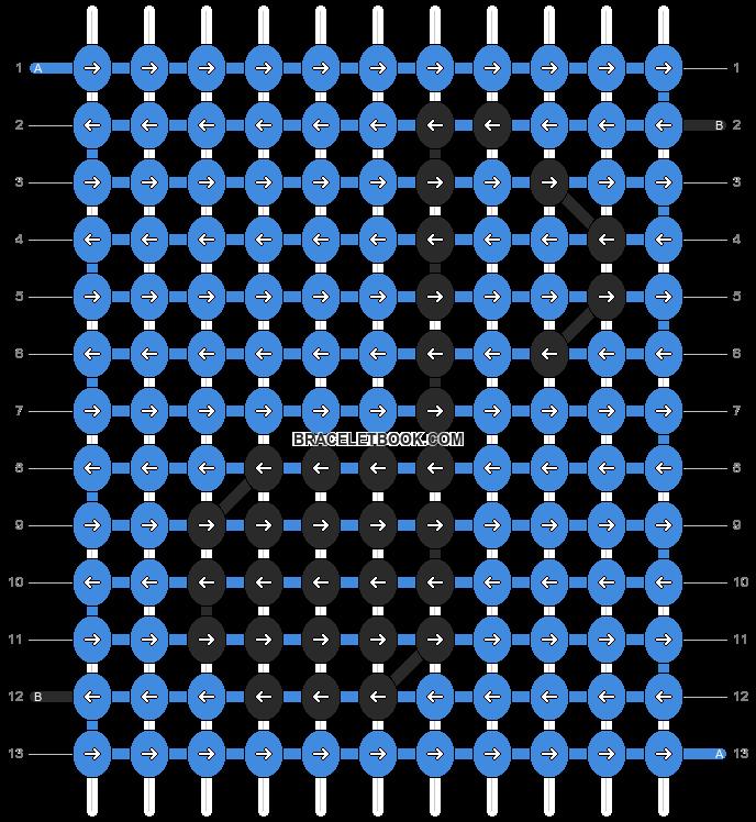 Alpha pattern #292 pattern
