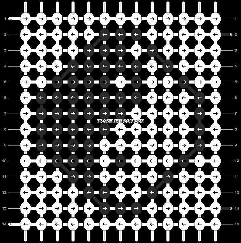 Alpha pattern #300 pattern