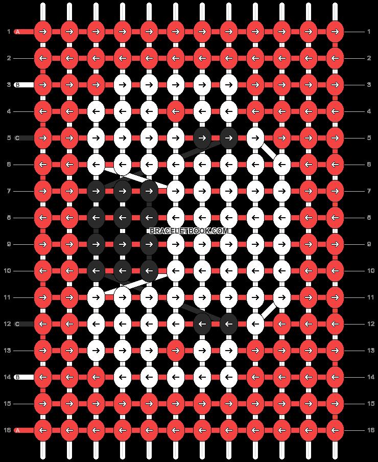 Alpha pattern #304 pattern