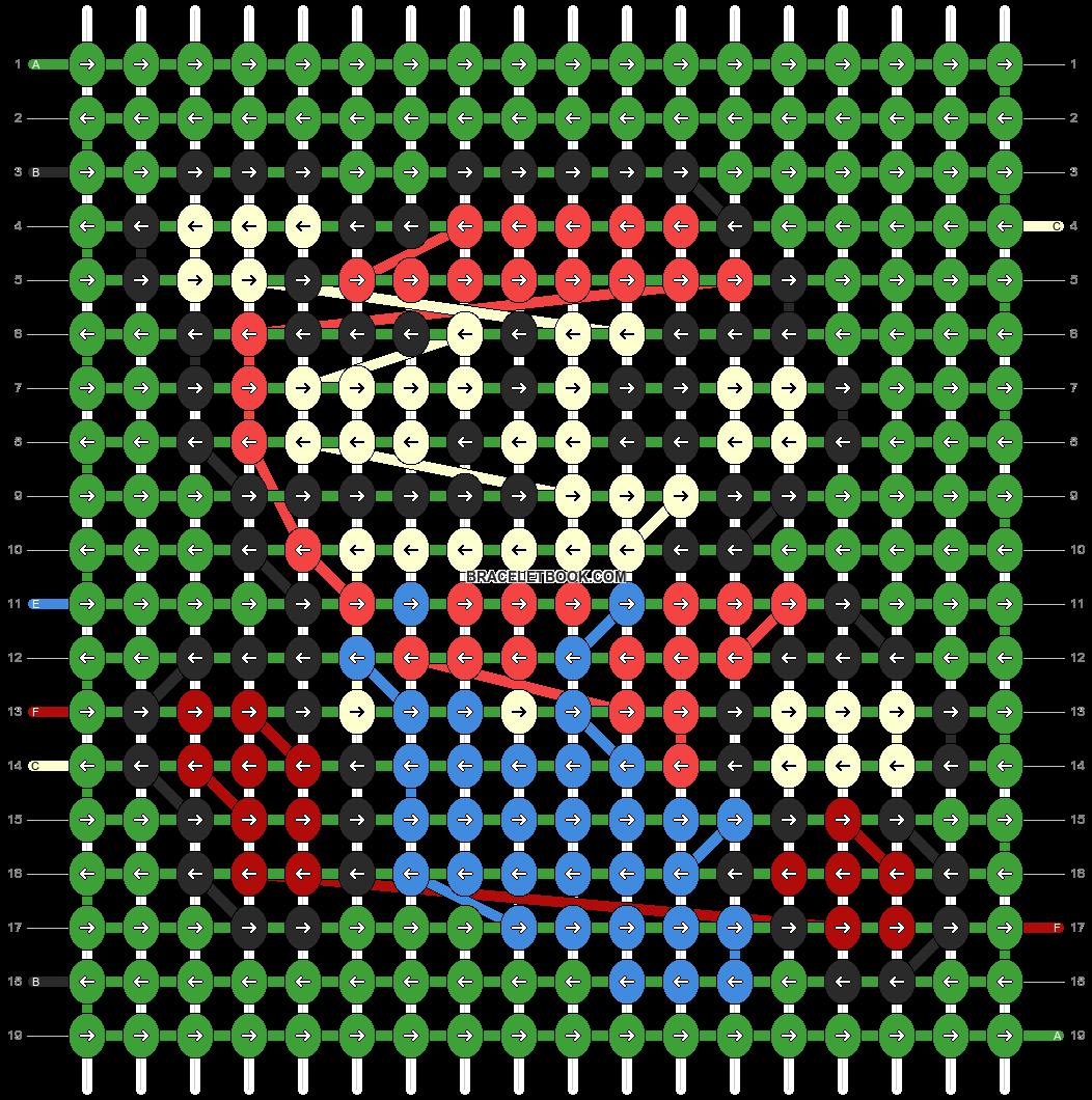 Alpha pattern #319 pattern