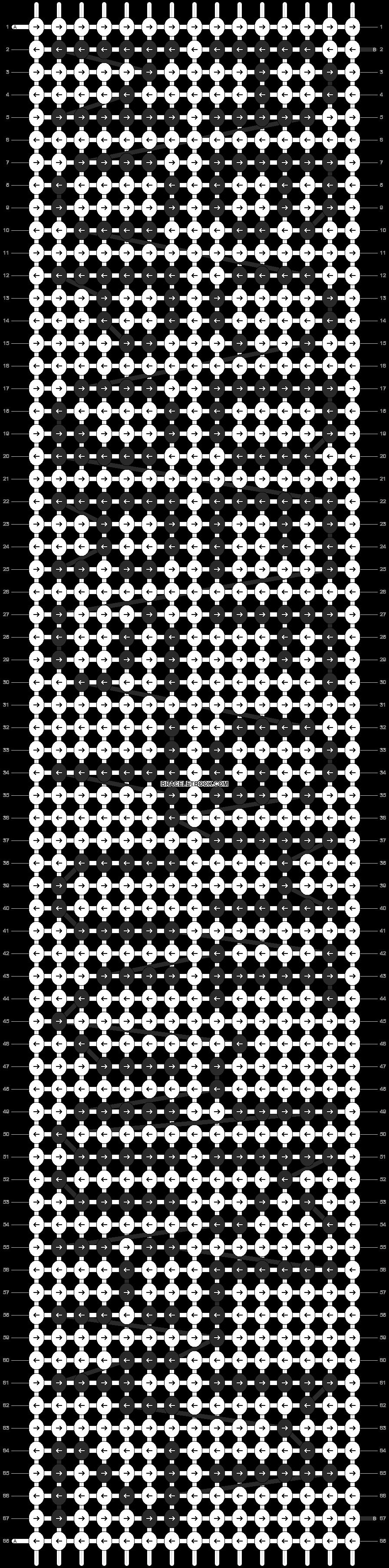 Alpha pattern #323 pattern
