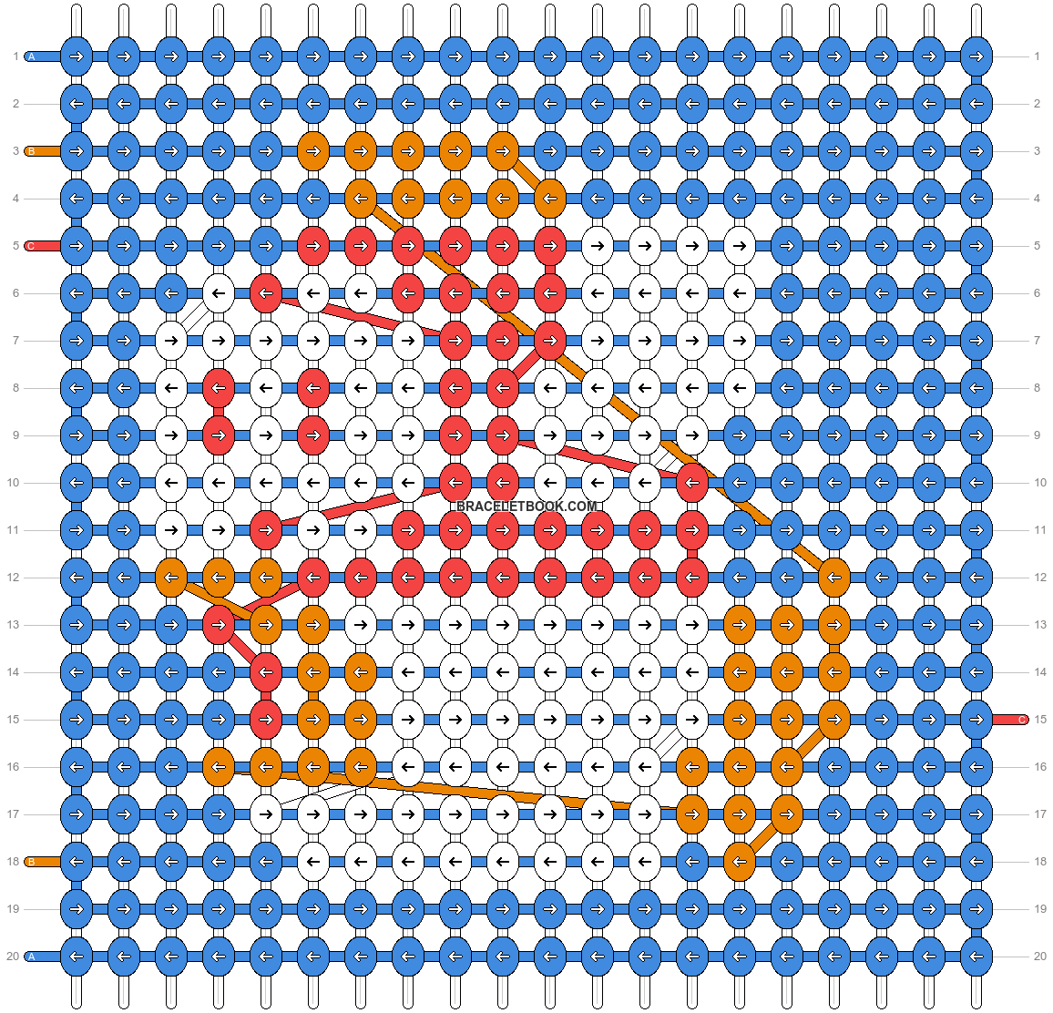 Alpha pattern #370 pattern