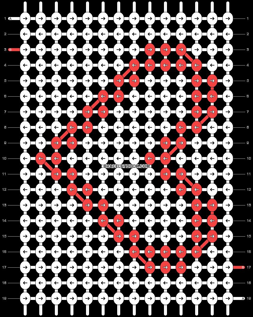Alpha pattern #387 pattern