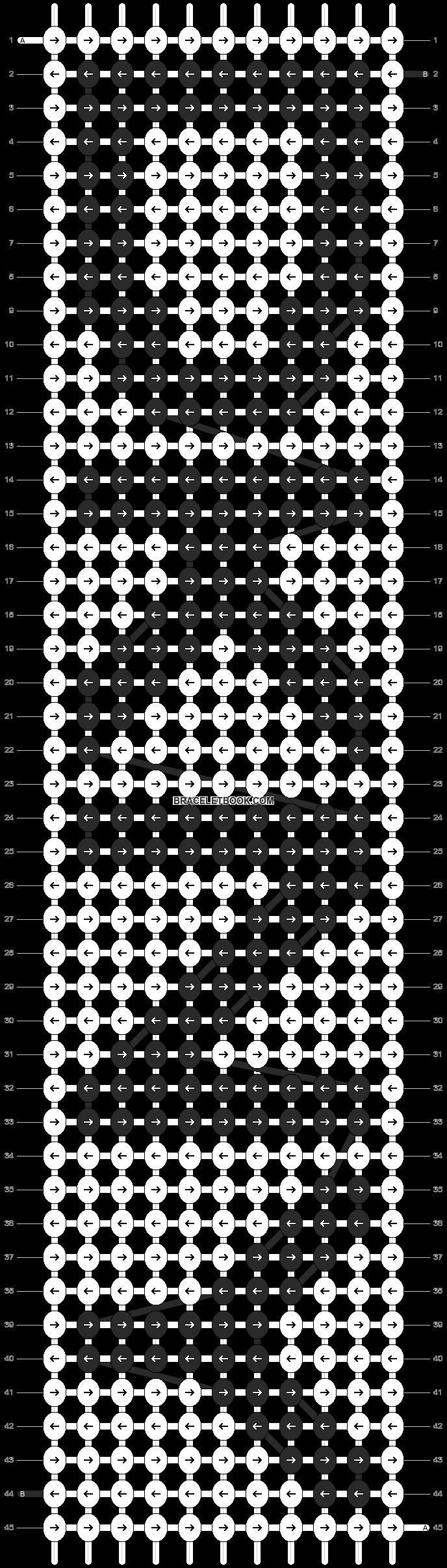 Alpha pattern #390 pattern