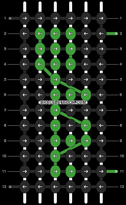 Alpha pattern #394 pattern