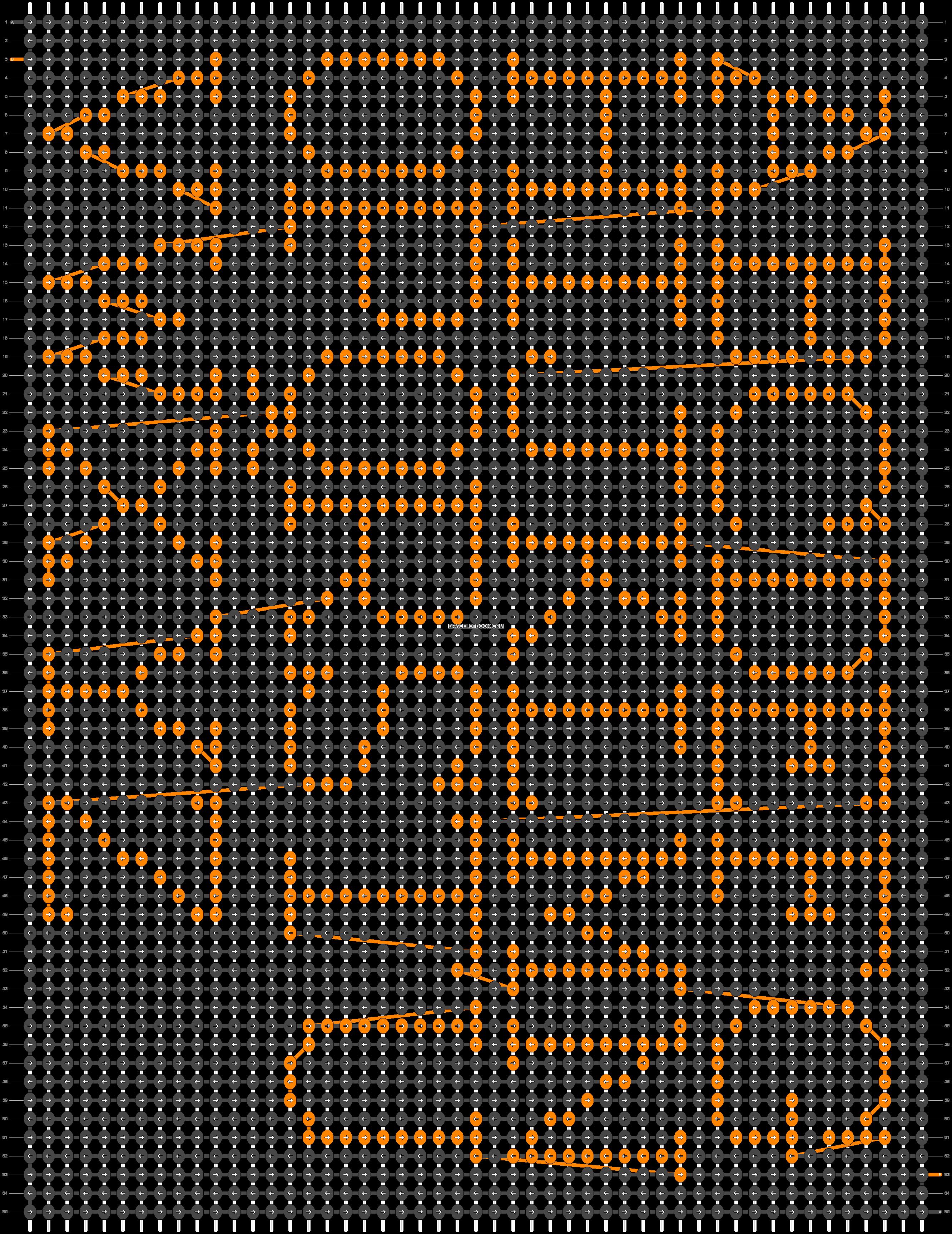 Alpha pattern #474 pattern