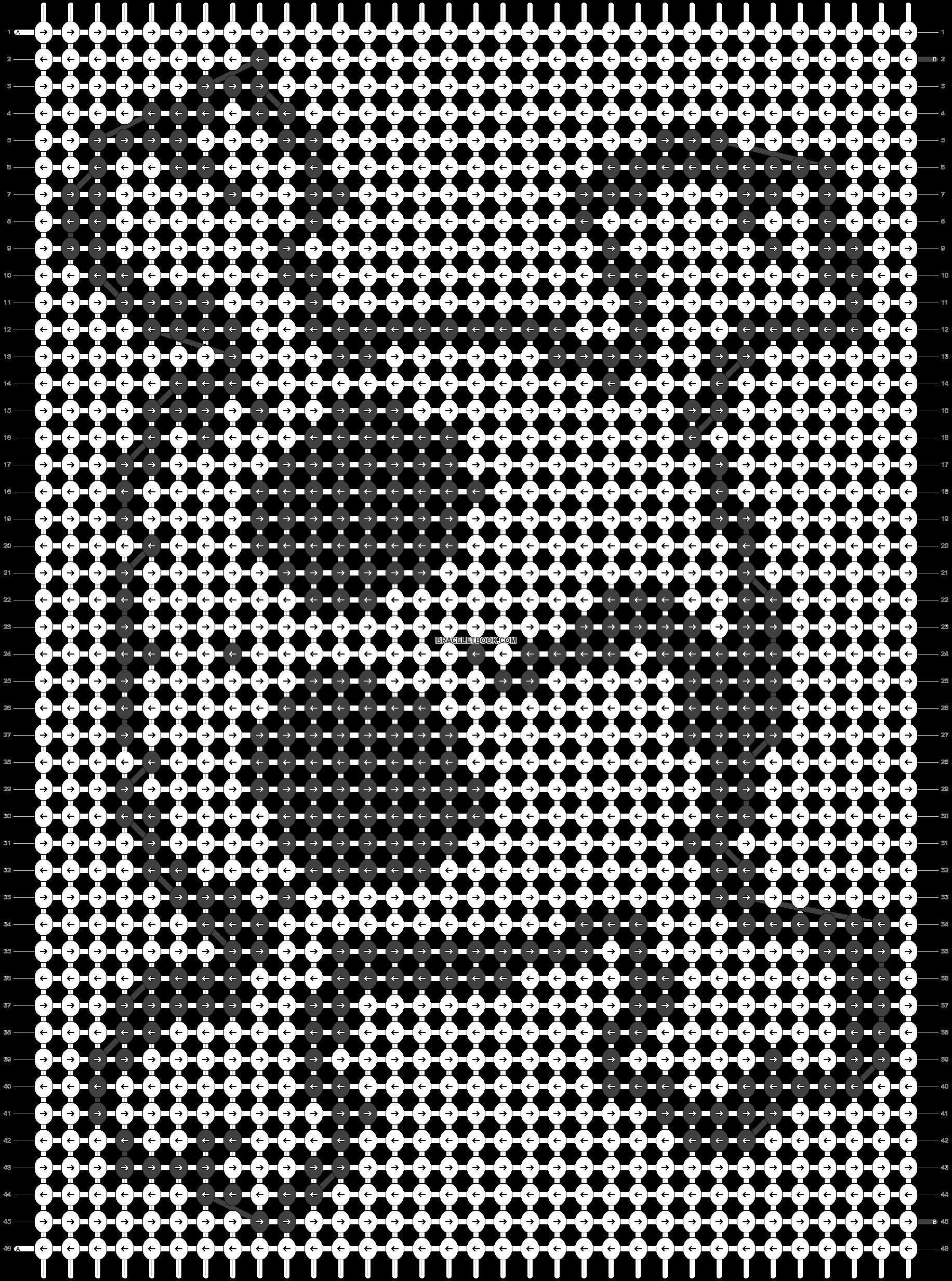 Alpha pattern #512 pattern