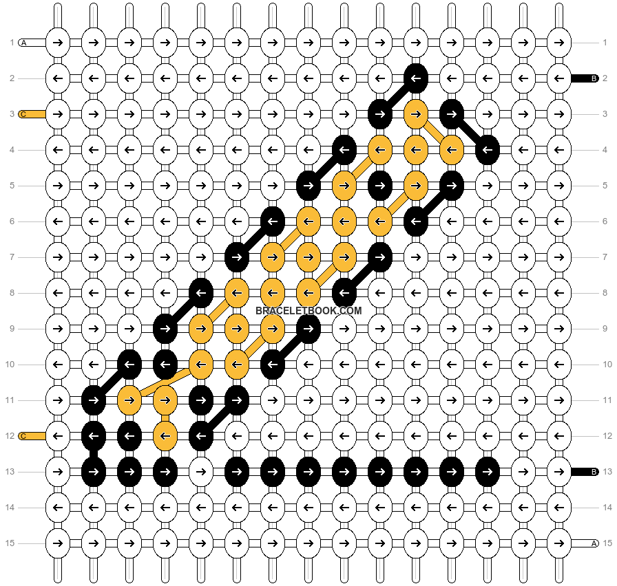 Alpha pattern #515 pattern