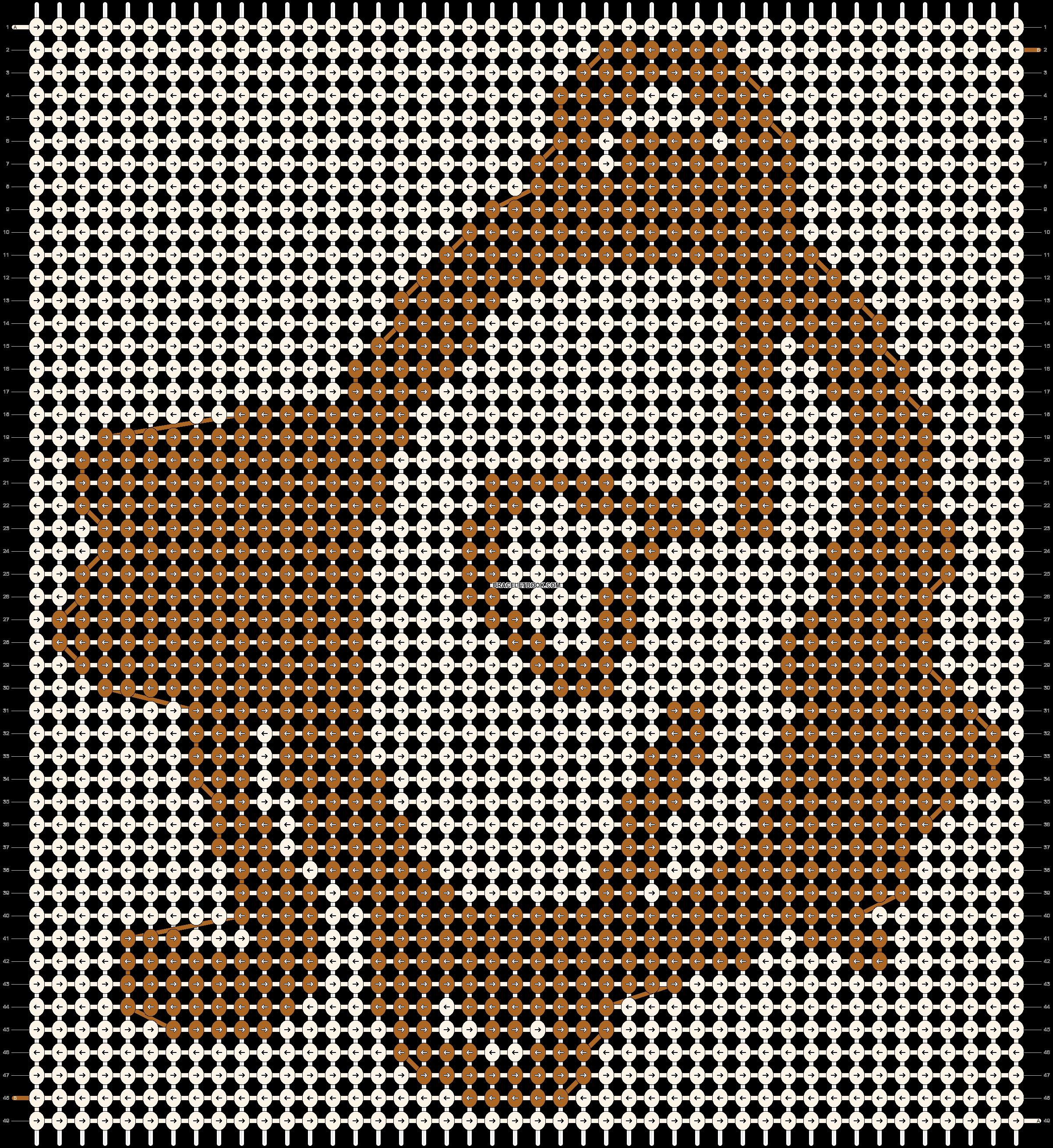 Alpha pattern #518 pattern