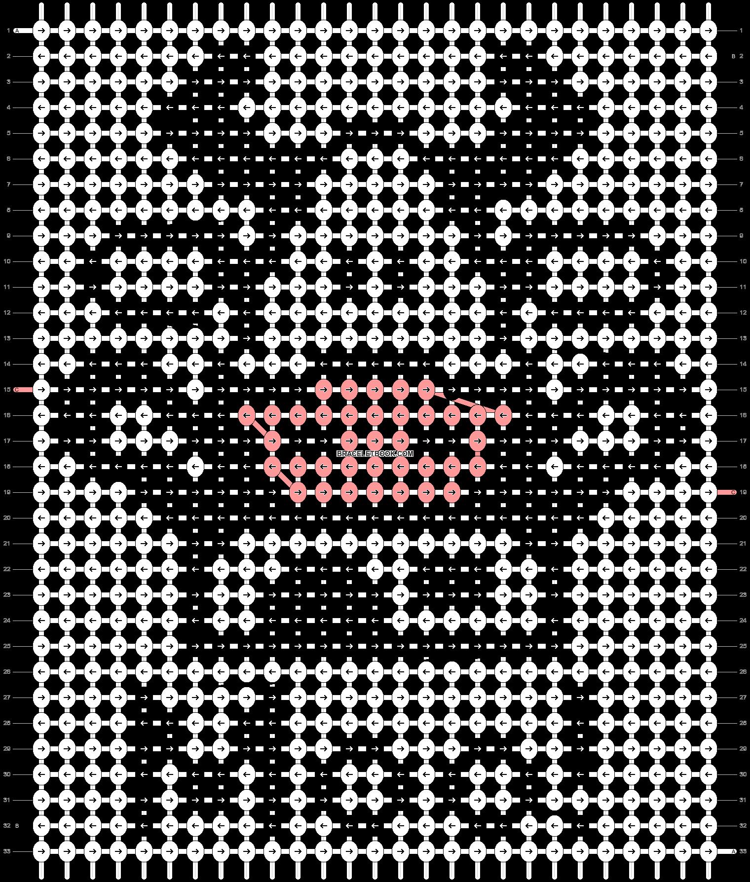 Alpha pattern #520 pattern