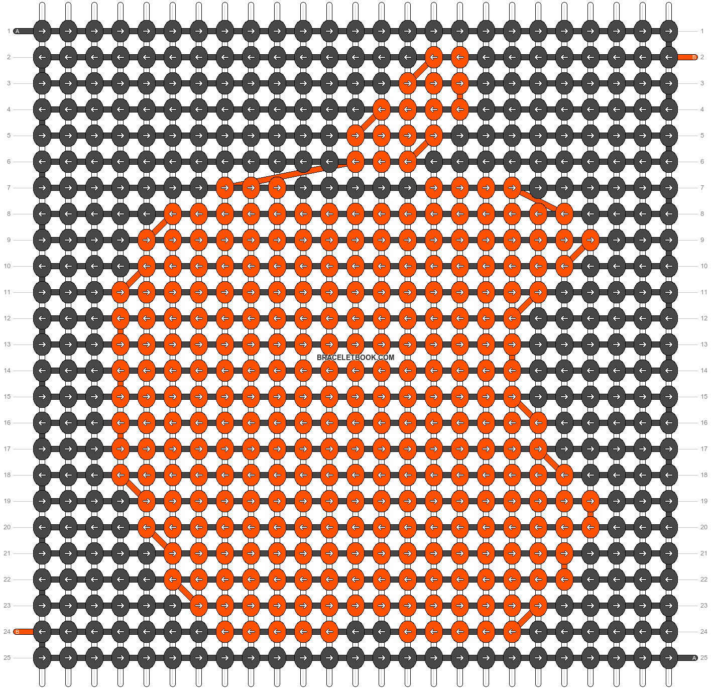 Alpha pattern #524 pattern
