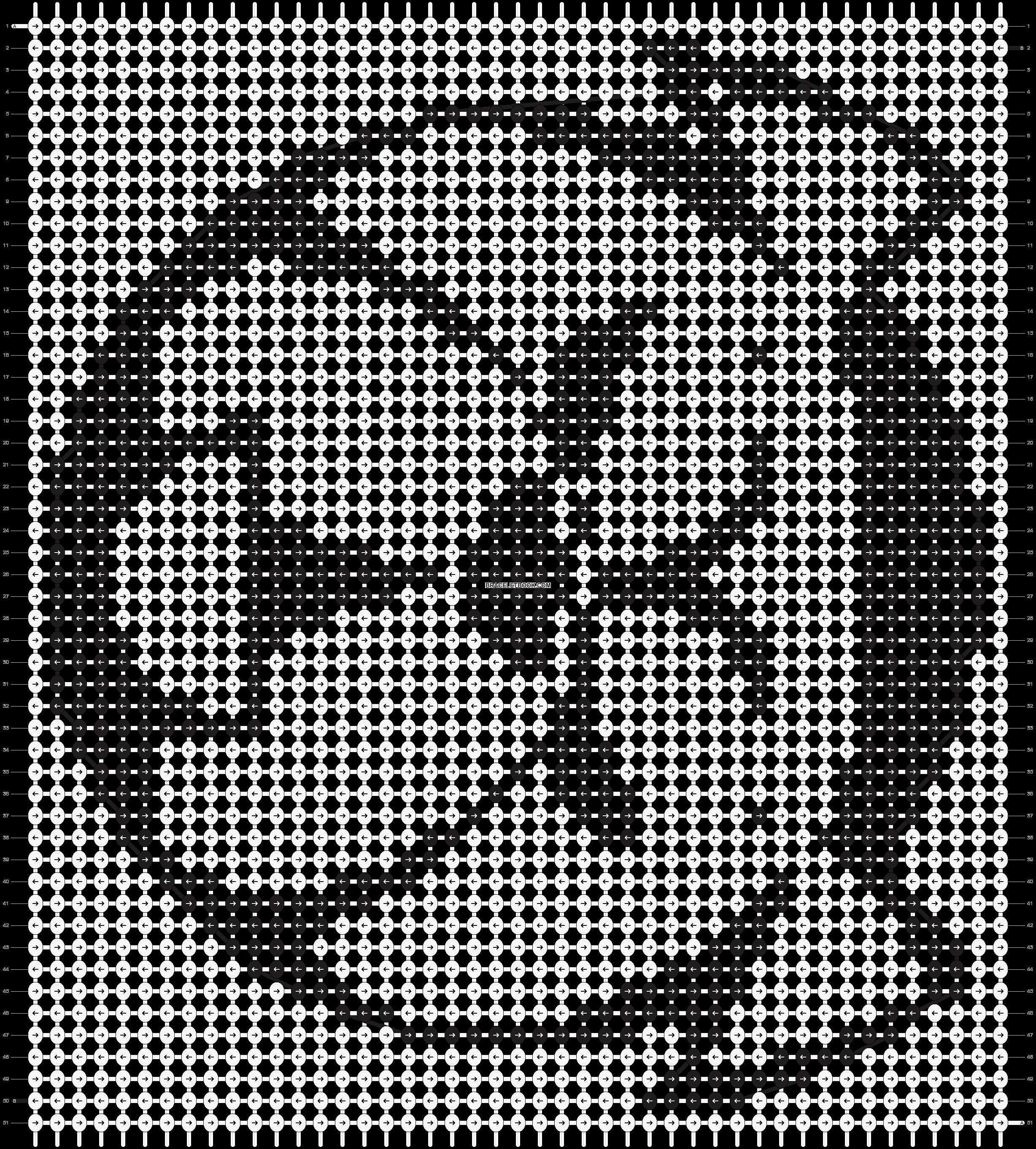 Alpha pattern #525 pattern