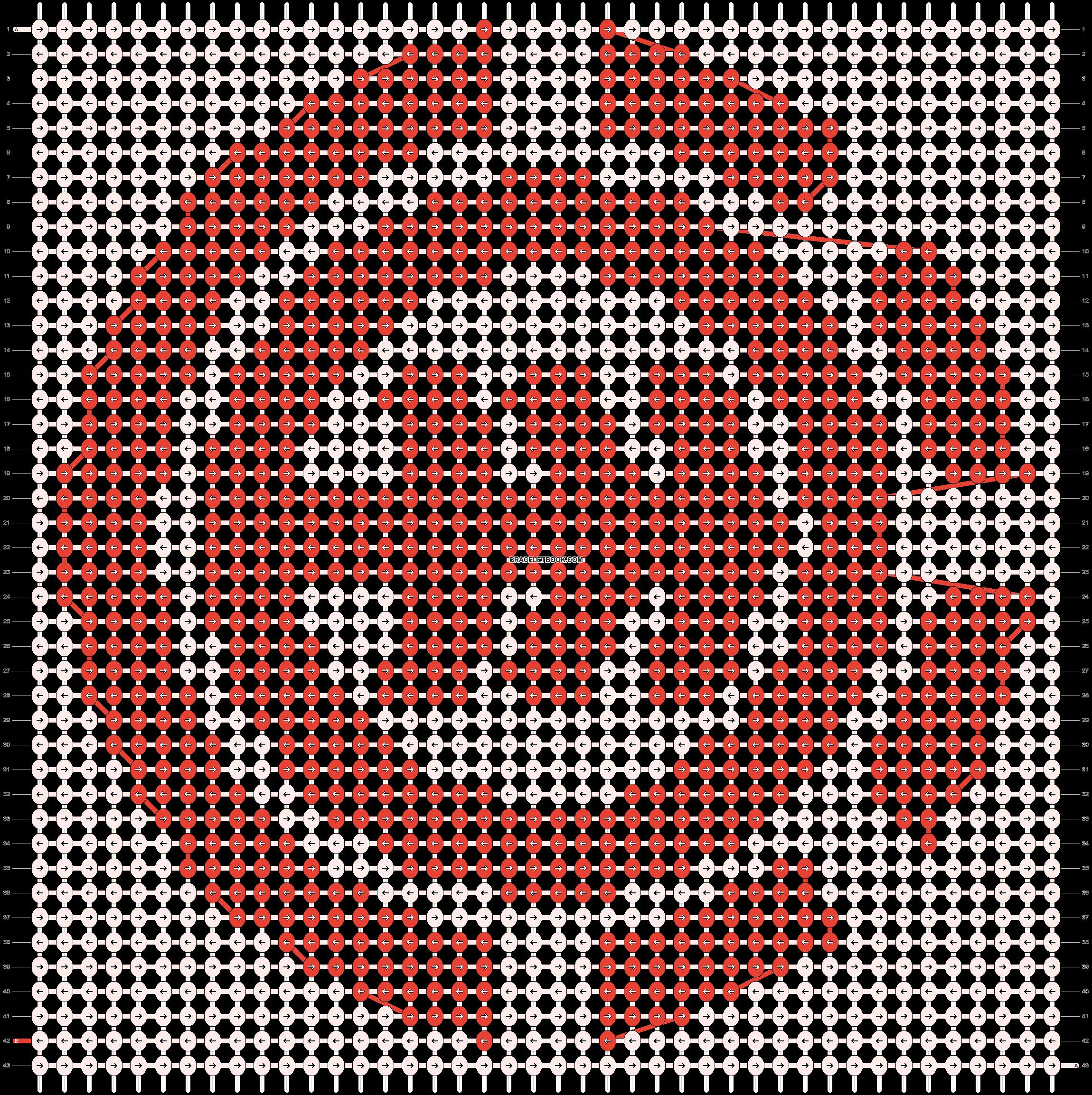 Alpha pattern #527 pattern
