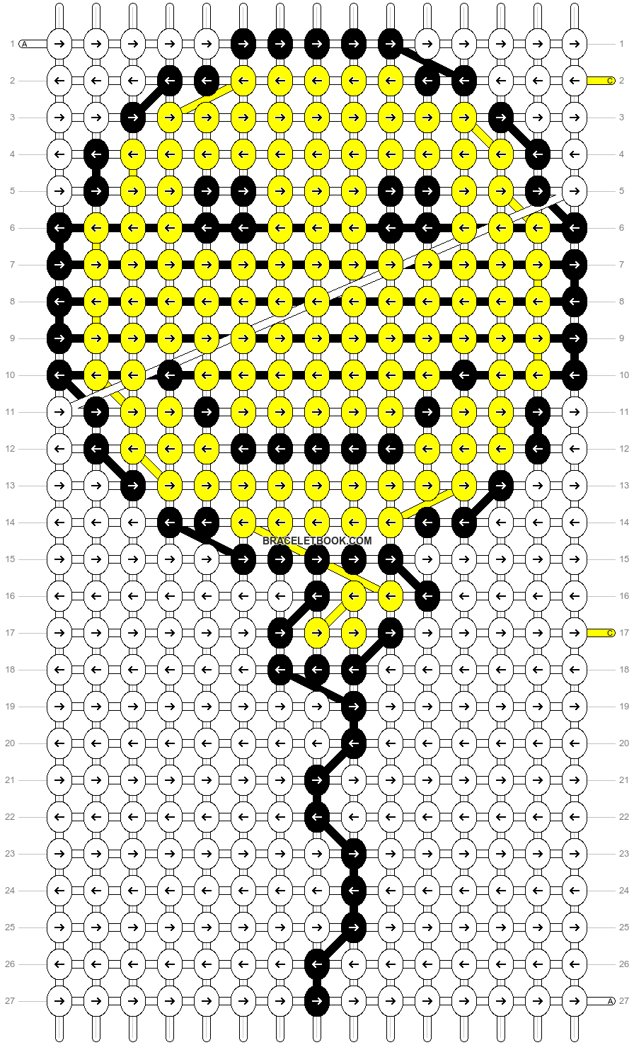 Alpha pattern #532 pattern