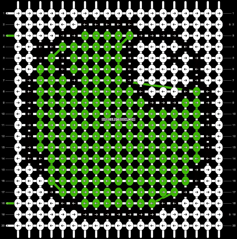 Alpha pattern #542 pattern
