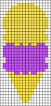 Alpha Friendship Bracelet Pattern #544