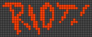 Alpha Friendship Bracelet Pattern #547