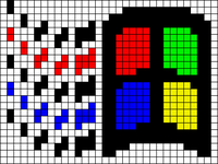 Alpha pattern #549