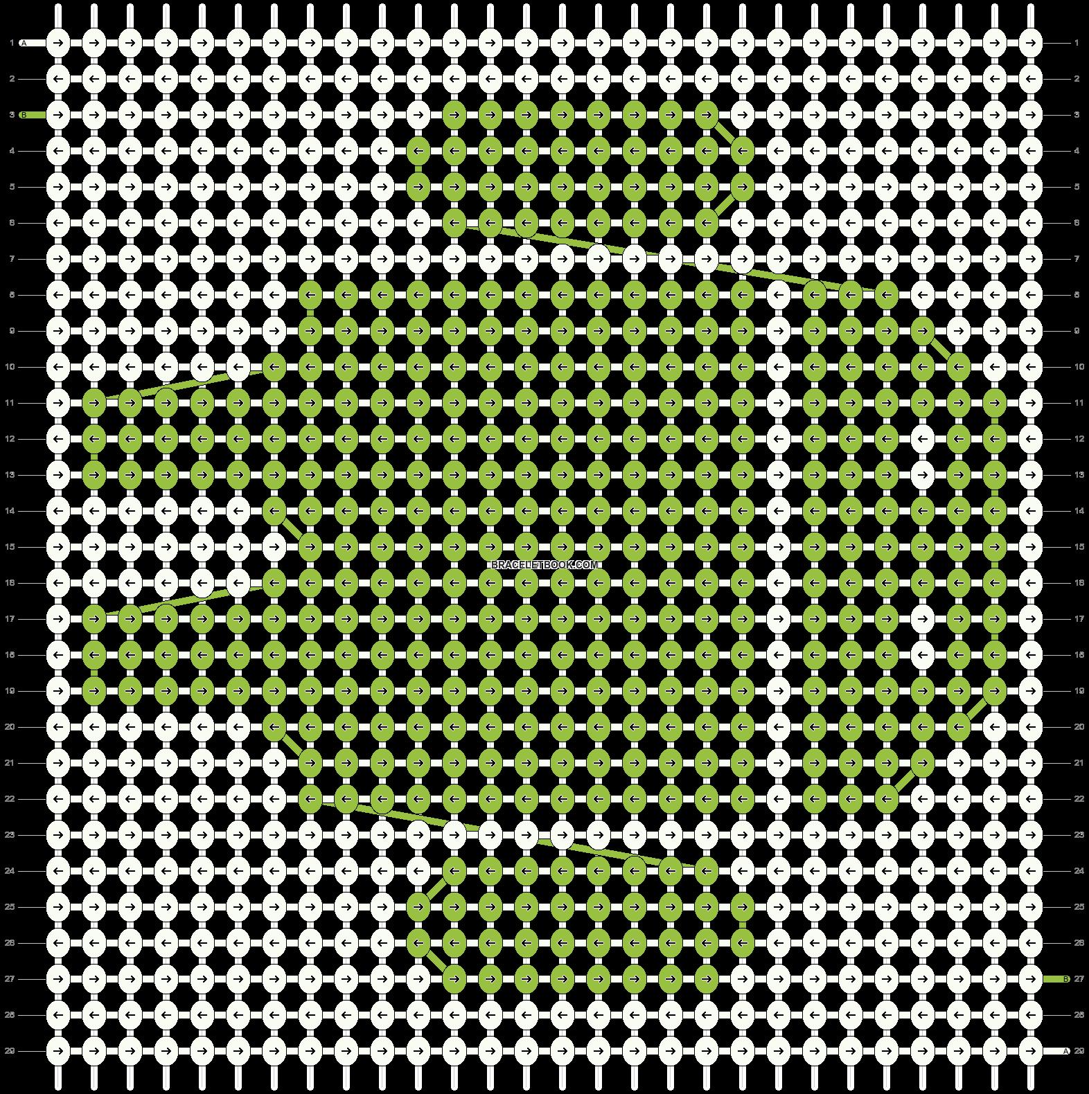 Alpha pattern #550 pattern