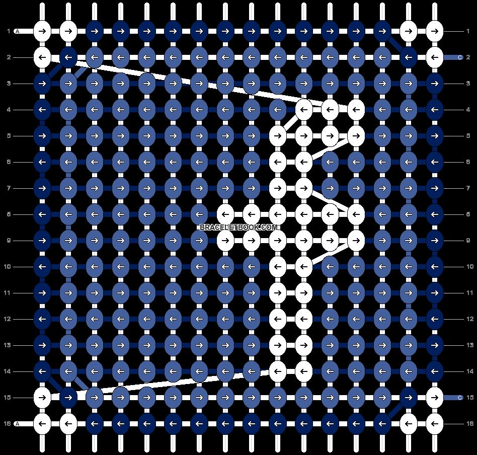 Alpha pattern #552 pattern
