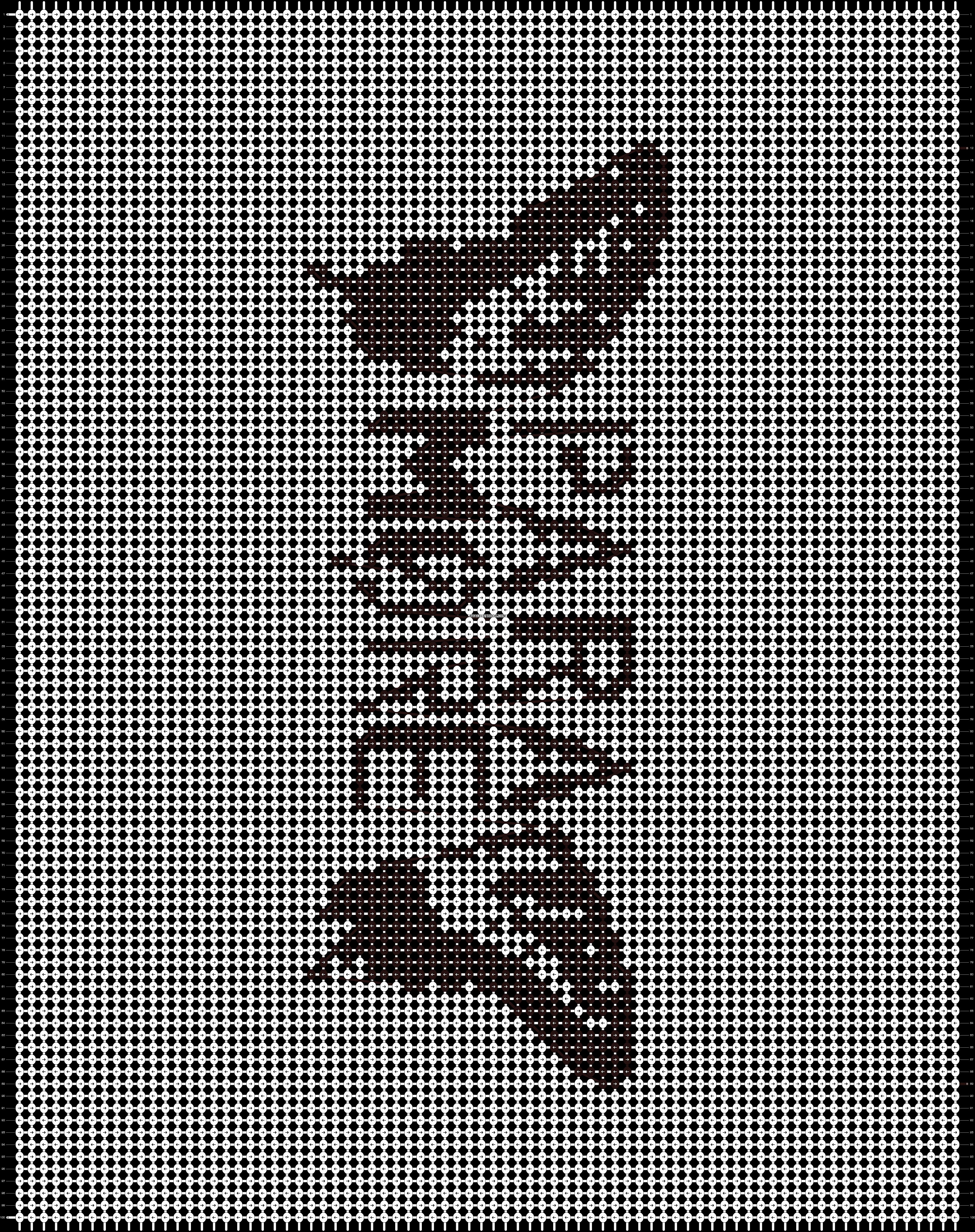 Alpha pattern #562 pattern