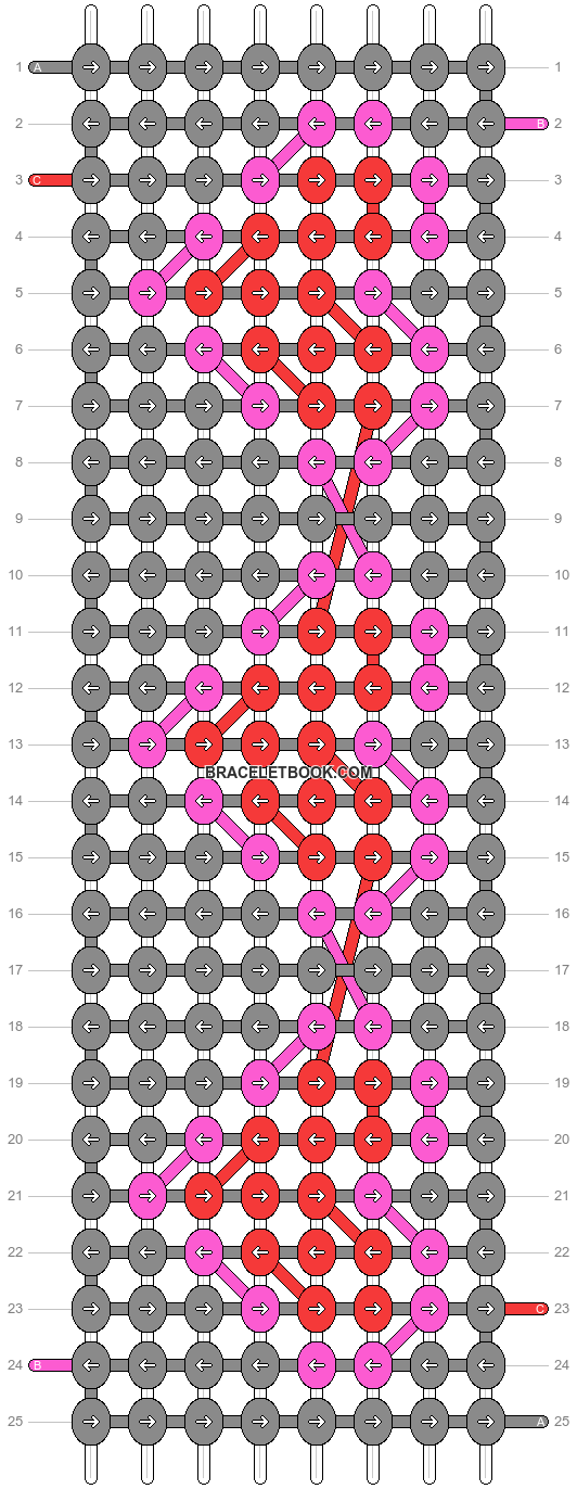 Alpha pattern #564 pattern