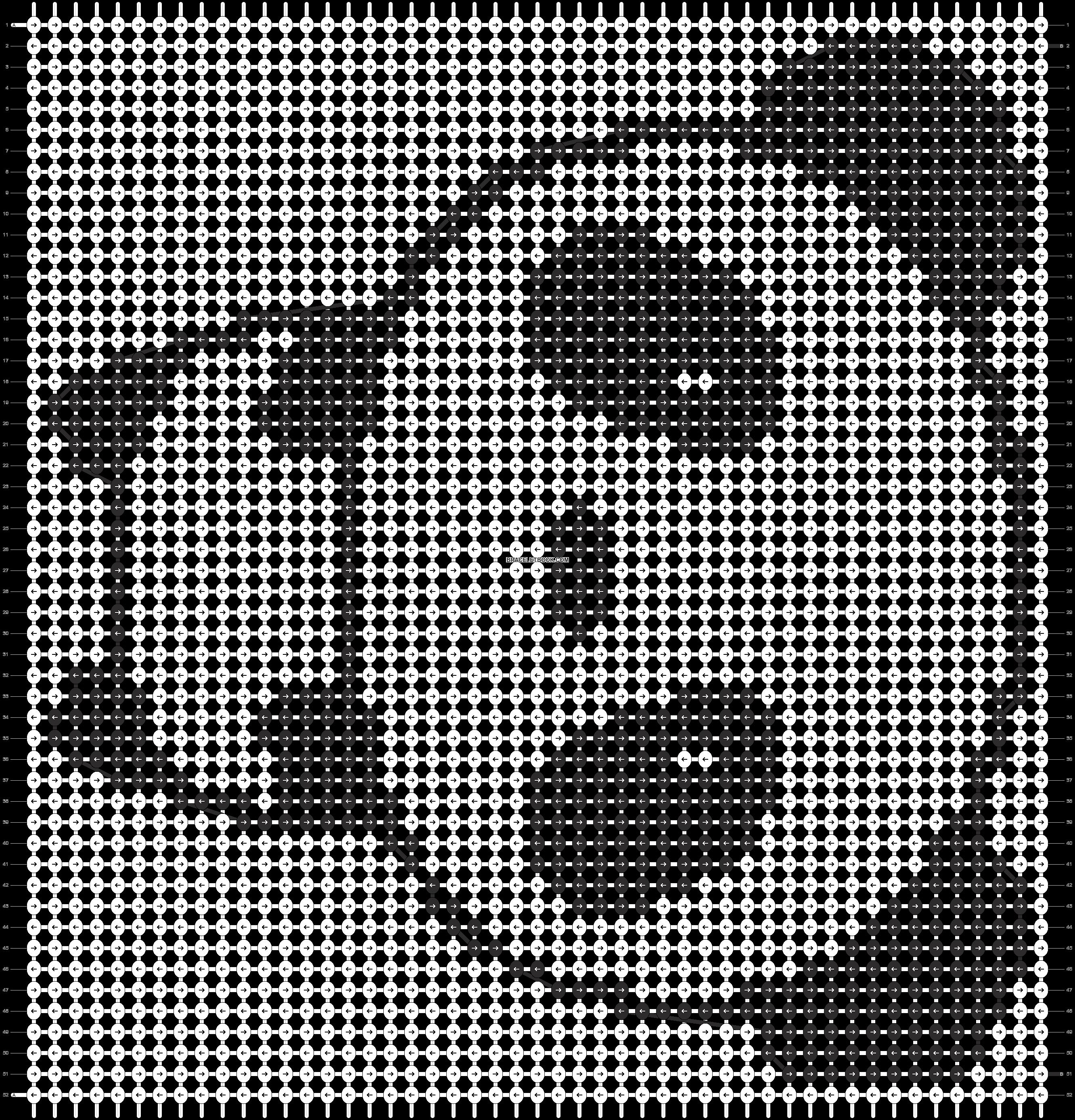 Alpha pattern #568 pattern