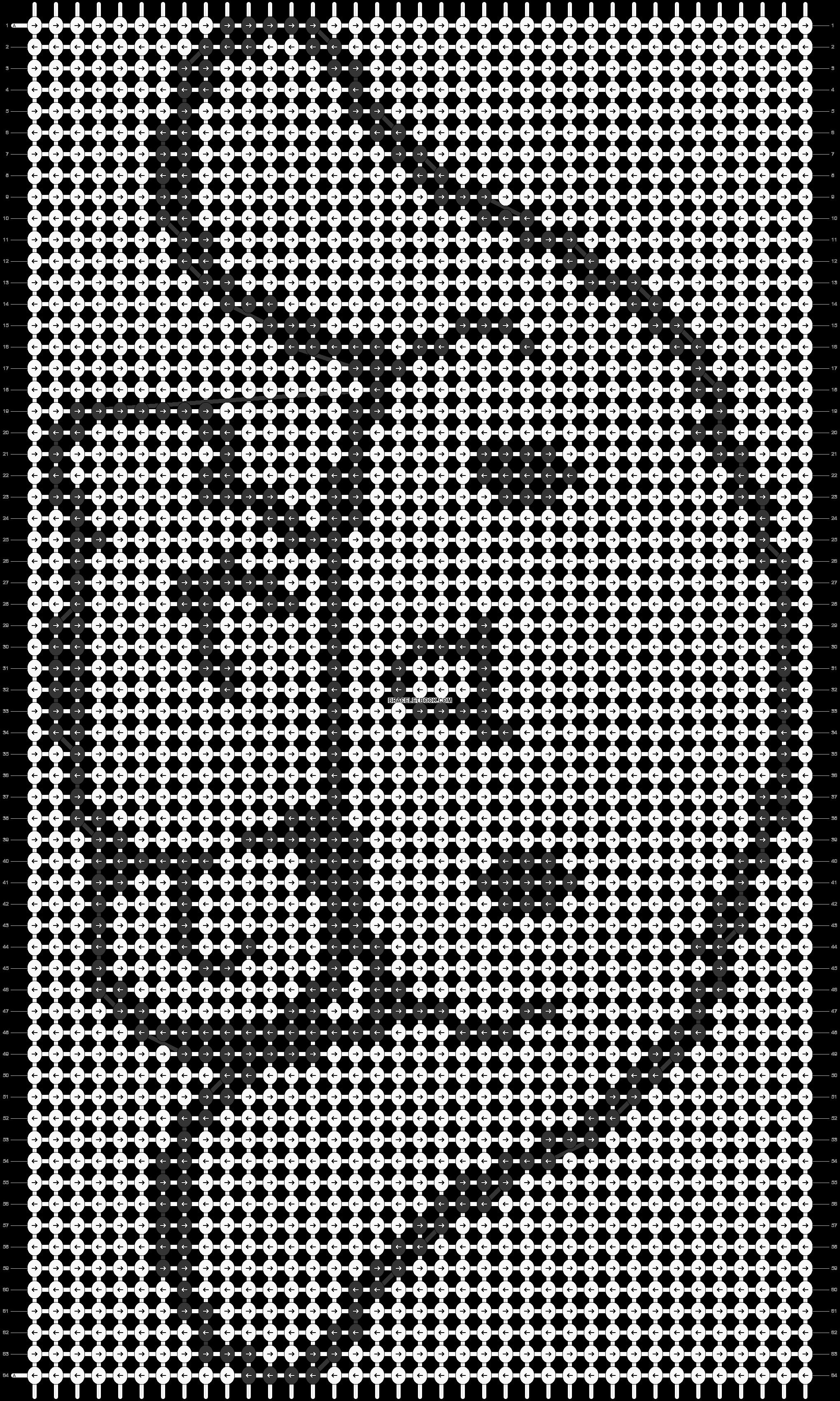 Alpha pattern #569 pattern