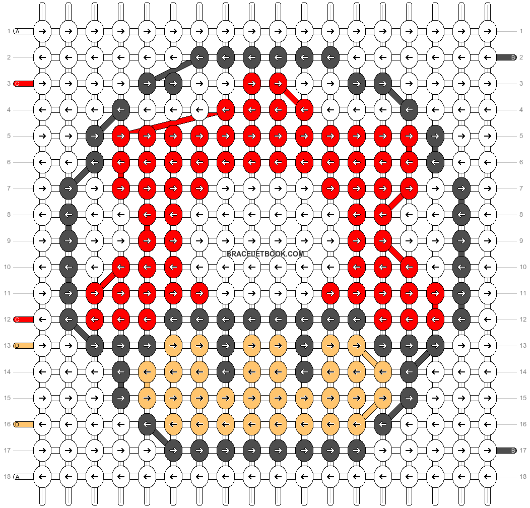 Alpha pattern #572 pattern