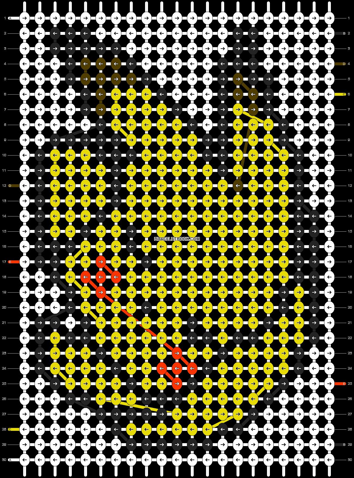 Alpha pattern #577 pattern