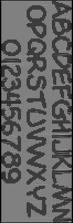 Alpha pattern #592 pattern