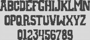 Alpha pattern #593