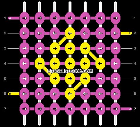 Alpha pattern #610 pattern