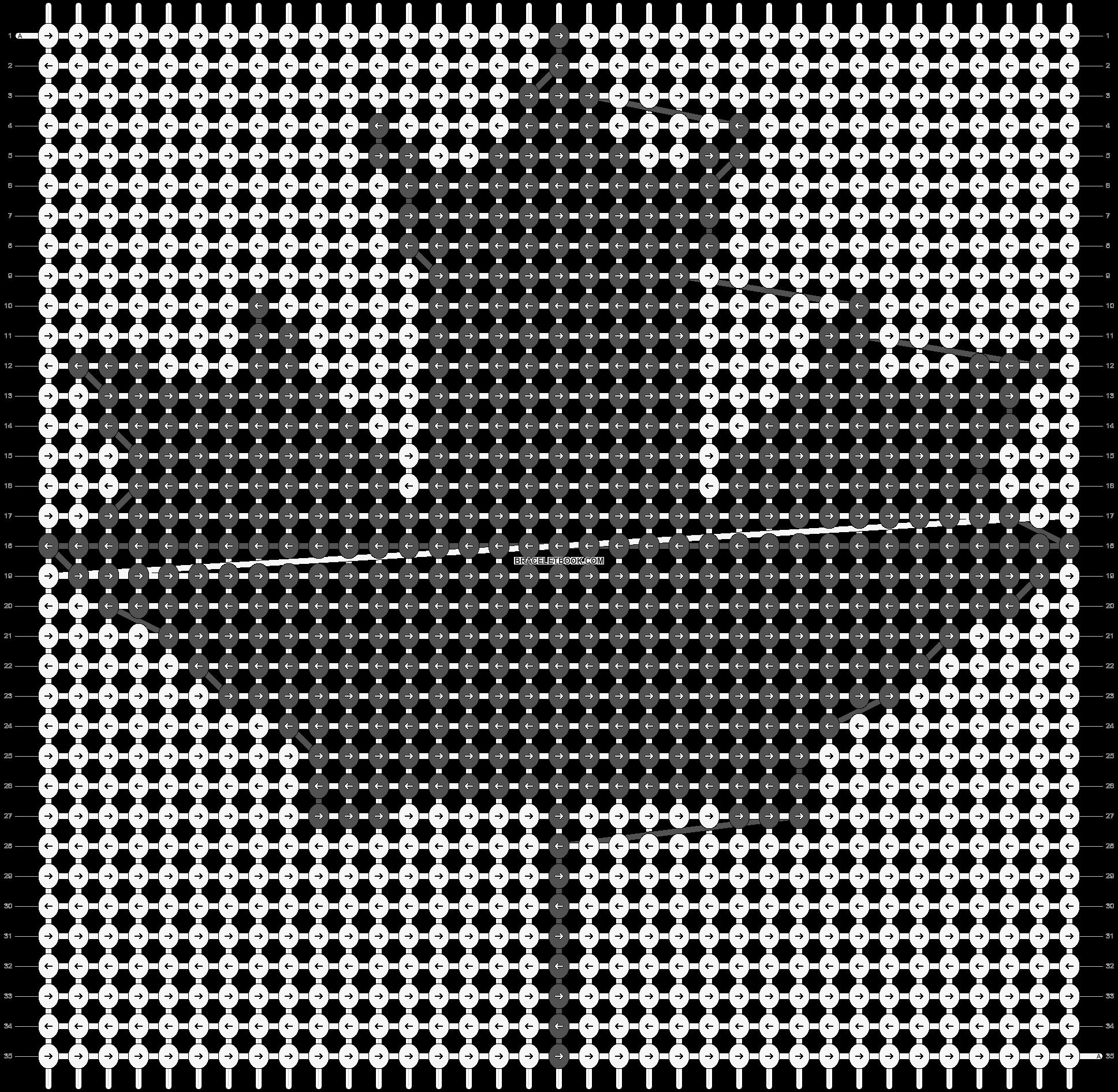 Alpha pattern #657 pattern