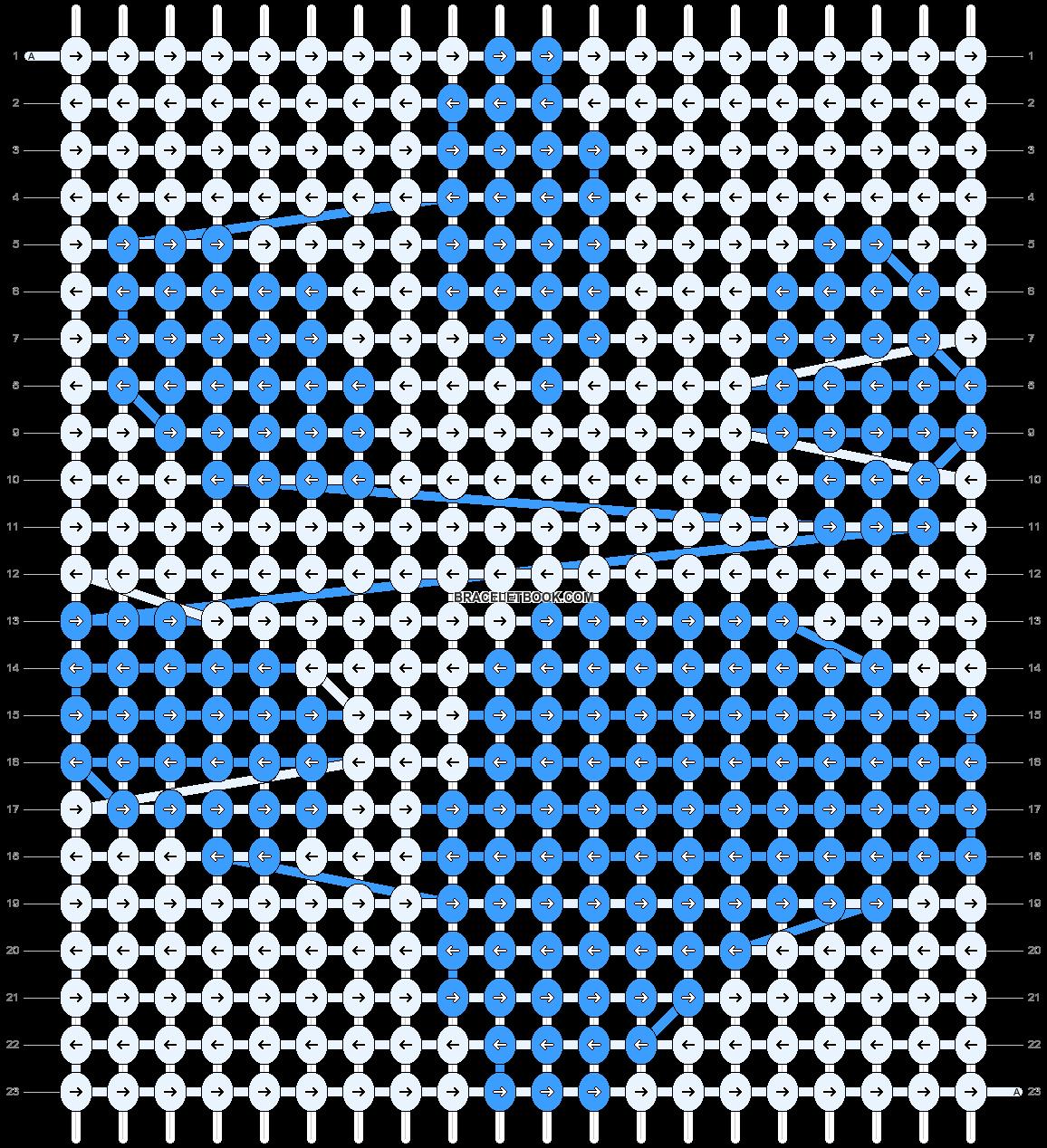 Alpha pattern #659 pattern