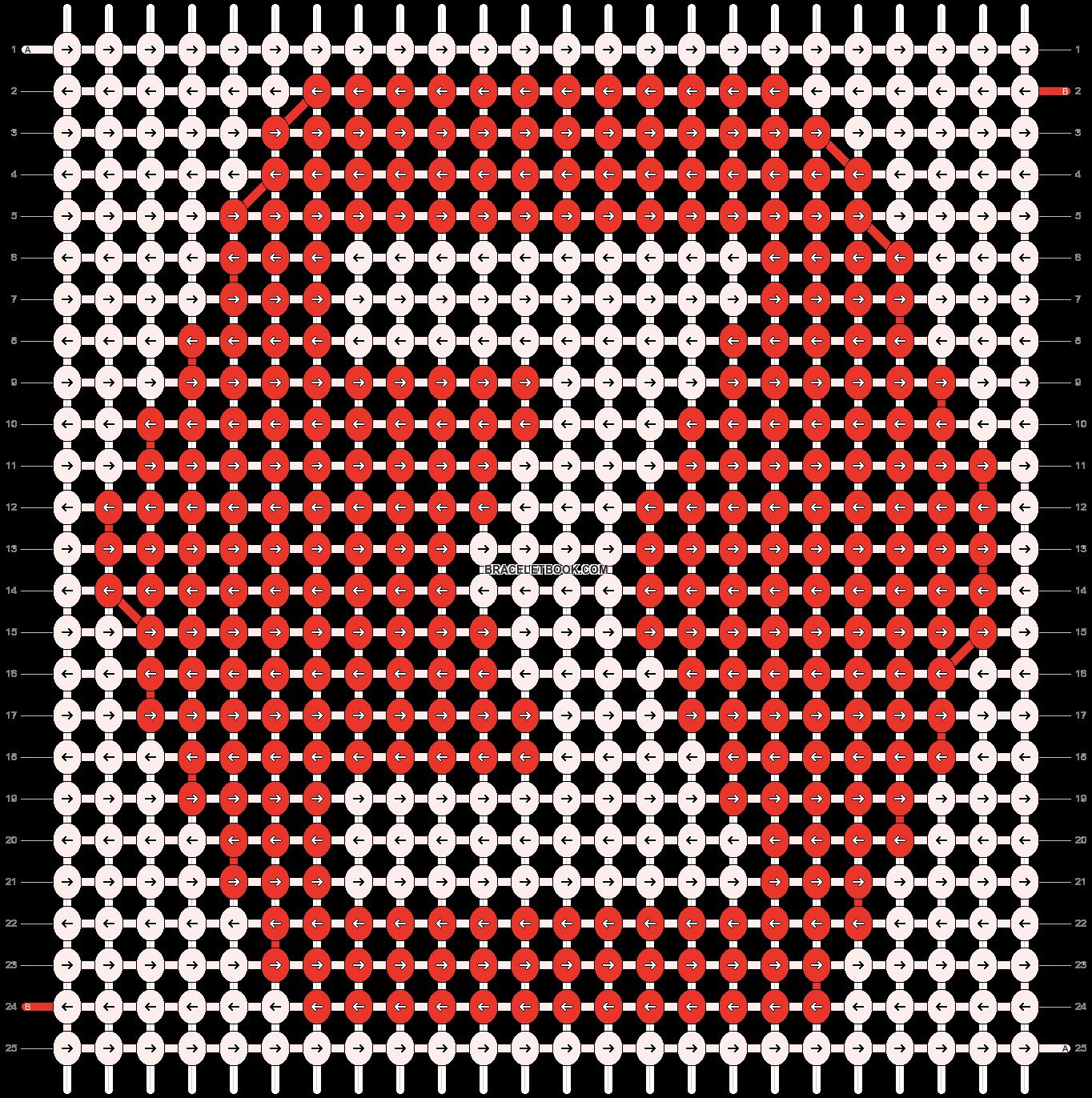 Alpha pattern #660 pattern