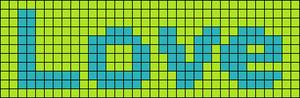 Alpha pattern #669