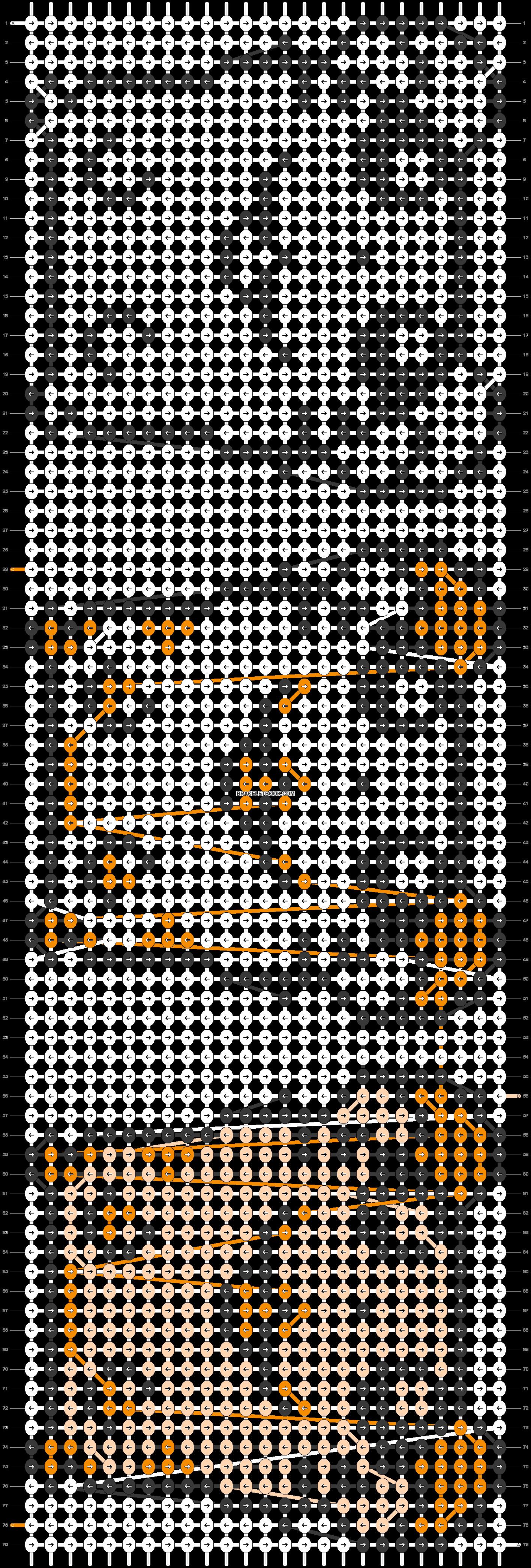Alpha pattern #691 pattern