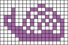 Alpha pattern #694