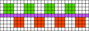 Alpha pattern #695