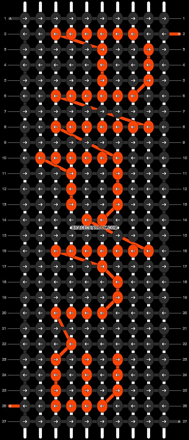 Alpha pattern #696 pattern