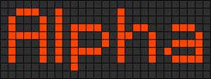 Alpha Friendship Bracelet Pattern #696