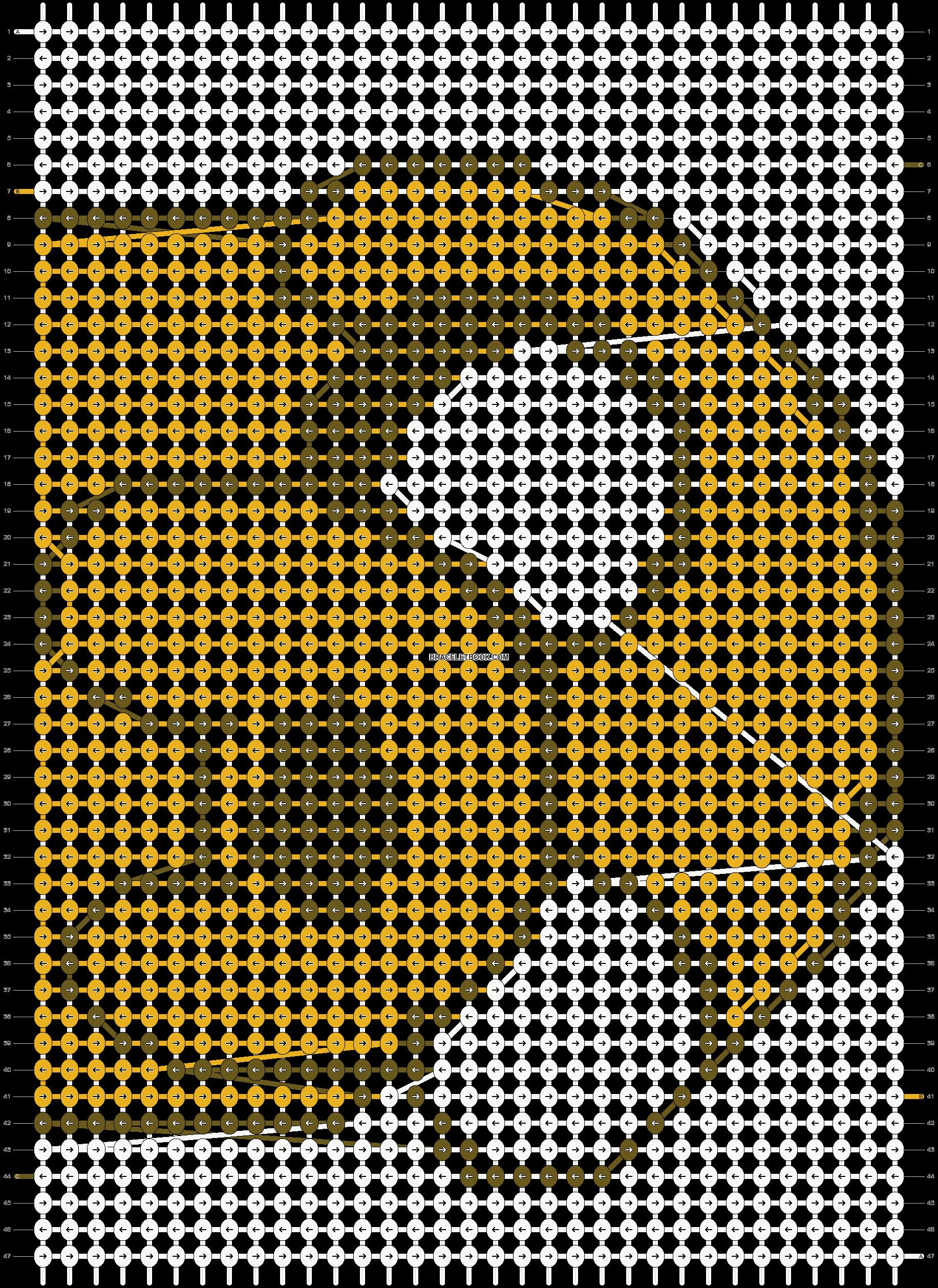 Alpha pattern #709 pattern