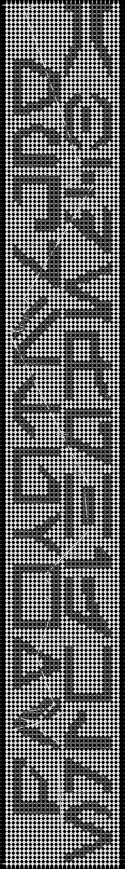 Alpha pattern #720 pattern