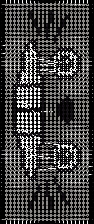 Alpha pattern #724 pattern